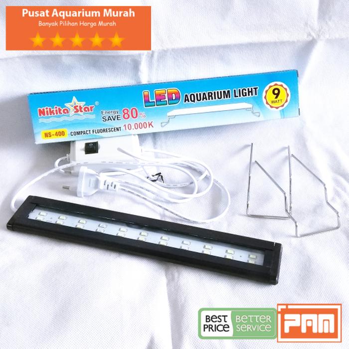 Lampu Led NS 400 untuk aquascape/aquarium NS 400 NIKITA ...