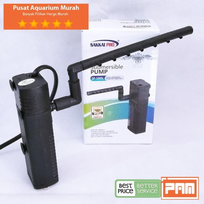 Pompa Filter Aquarium Kecil Sakai Pro Sp1000L Sp 1000 L ...